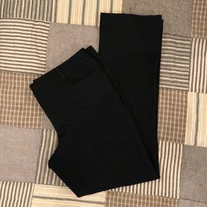 Express black columnist dress pants